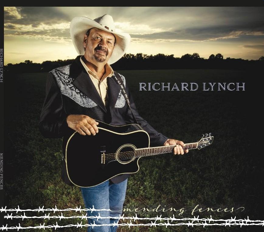 """RICHARD LYNCH ANNOUNCES """"MENDING FENCES"""" CD RELEASE PARTY/BENEFIT CONCERT"""